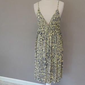 Velvet summer dress
